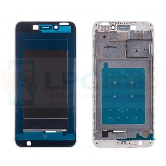 Рамка дисплея для Huawei Honor 6C Белая / Золото