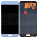 Дисплей для Samsung J530F (J5 2017) в сборе с тачскрином Серебро (Blue) - (TFT)
