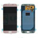 Дисплей для Samsung J530F (J5 2017) в сборе с тачскрином Розовый - Оригинал