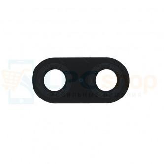 Стекло (для переклейки) камеры Huawei P20 Lite Черное