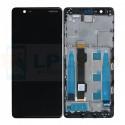 Дисплей Nokia 5.1 c рамкой Черный - Оригинал