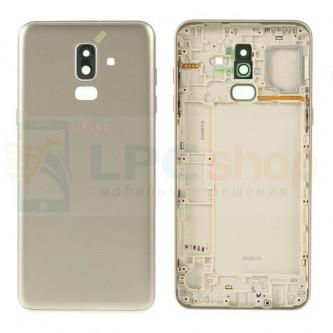 Крышка(задняя) Samsung J8 2018 J810F Золото