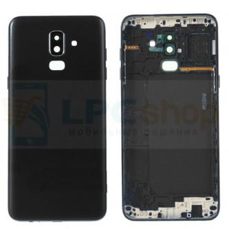 Крышка(задняя) Samsung J8 2018 J810F Черный