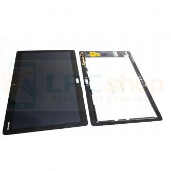 """Дисплей Huawei MediaPad M3 Lite 10"""" в сборе с тачскрином Черный"""