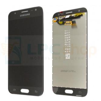 Дисплей для Samsung J330F (J3 2017) в сборе с тачскрином Черный - Оригинал