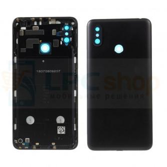 Крышка(задняя) Xiaomi Mi Max 3 Черный