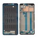 Рамка дисплея для Xiaomi MI Max 3 Черная (c проклейкой)
