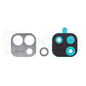 Стекло (для переклейки) камеры LG X Cam Titan K580DS Серебро
