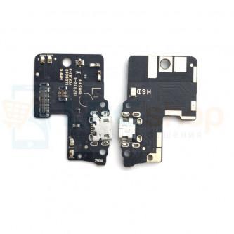 Шлейф разъема зарядки Xiaomi Redmi S2 (плата) и микрофон