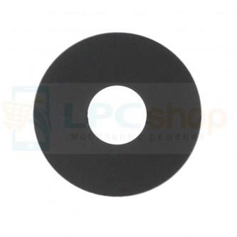 Стекло (для переклейки) камеры LG K8 2017 X240 Черное