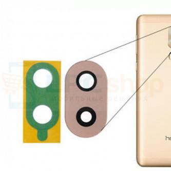 Стекло (для переклейки) камеры Huawei Honor 6X Золото