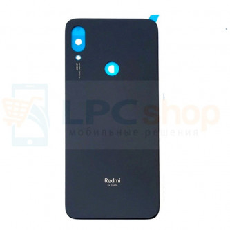 Крышка(задняя) Xiaomi Redmi Note 7 Черный