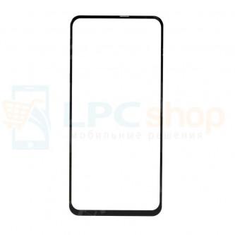 Стекло (для замены) Samsung A606 (A60) Черное