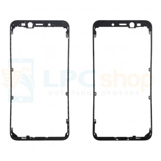 Рамка дисплея для Xiaomi Mi 6X / Mi A2 Черная