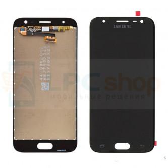 Дисплей Samsung J330F (J3 2017) в сборе с тачскрином Черный