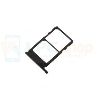 Лоток сим карт Nokia 5.1 Черный