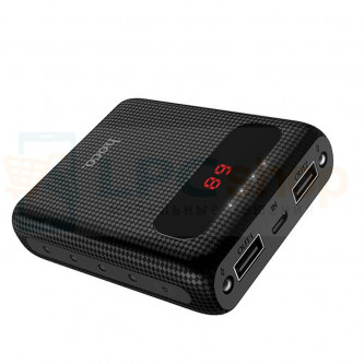 Аккумулятор (Power Bank) Hoco B20 10000 mAh (2A, 2USB, с дисплеем) Черный