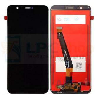 Дисплей Huawei P Smart в сборе с тачскрином Черный - Оригинал