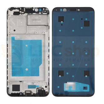 Рамка дисплея для Huawei Honor 7C Pro LND-L29 / Y7 Prime 2018 Черная