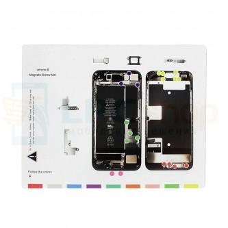Магнитный коврик (Screw Magnetic mat) для iPhone 8