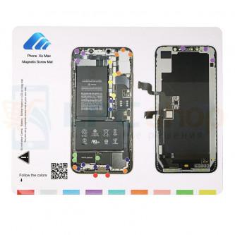 Магнитный коврик (Screw Magnetic mat) для iPhone XS MAX