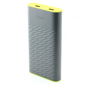 Аккумулятор (Power Bank) Hoco B31A 30000 mAh (2A, 2USB) Серый