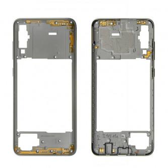 Средняя часть Samsung Galaxy A70 A705F Белая + кнопки громкости
