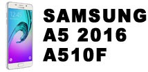 Аксессуары и запчасти для Samsung Galaxy A5 (2016) A510F