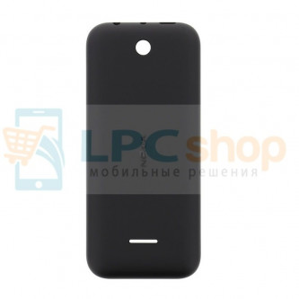 Крышка(задняя) Nokia 225 / 225 Dual Чёрная