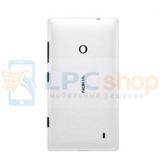 Крышка(задняя) Nokia Lumia 520/525 Белый