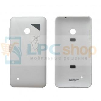 Крышка(задняя) Nokia Lumia 530 Dual Белая