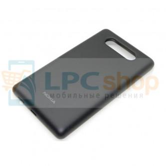 Крышка(задняя) Nokia Lumia 820 Черный