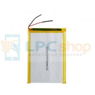 Аккумулятор универсальный 357090p 3,7v Li-Pol 2500 mAh (3.5*70*90 mm)