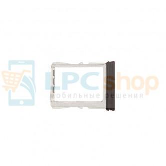 Лоток SIM HTC One/M7 Черный