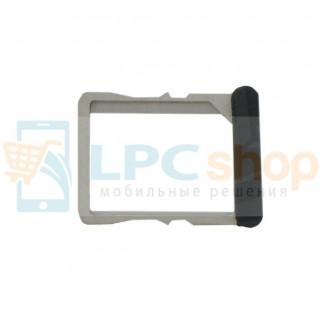 Лоток SIM HTC One X Черный