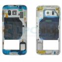 Корпус (средняя часть) Samsung Galaxy S6 G920F Белый