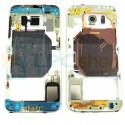 Корпус (средняя часть) Samsung Galaxy S6 G920F Золото