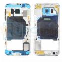 Корпус (средняя часть) Samsung Galaxy S6 G920F Синий