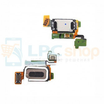 Шлейф слухового динамика Samsung Galaxy S6 G920F / S6 Duos G920FD и микрофон