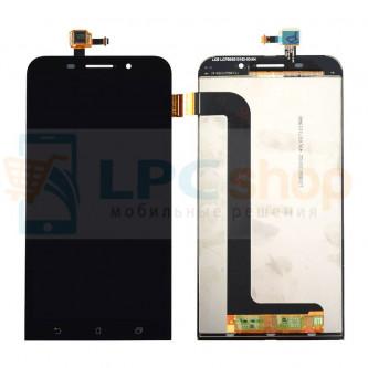 Дисплей для Asus ZenFone Max (ZC550KL) в сборе с тачскрином Черный