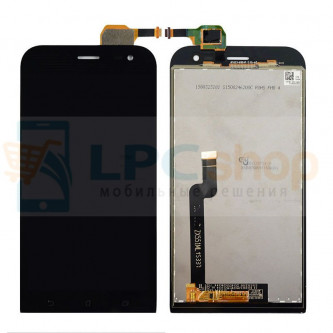 Дисплей для Asus ZenFone Zoom (ZX551ML) в сборе с тачскрином Черный