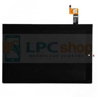 Дисплей для Lenovo Yoga Tablet 2 10 1050L в сборе с тачскрином Черный