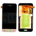 Дисплей Samsung Galaxy J1 (2016) J120F в сборе с тачскрином Золото - Оригинал