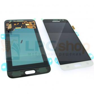 Дисплей для Samsung Galaxy J3 (2016) J320F в сборе с тачскрином Белый - Оригинал