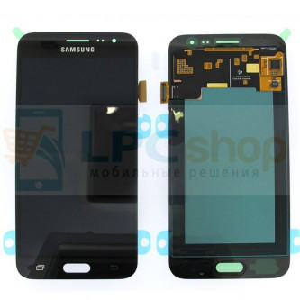 Дисплей для Samsung Galaxy J3 (2016) J320F в сборе с тачскрином Черный - Оригинал