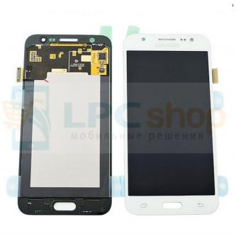 Дисплей для Samsung Galaxy J5 J500F в сборе с тачскрином Белый - Оригинал