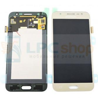 Дисплей Samsung Galaxy J5 J500F в сборе с тачскрином Золото - Оригинал