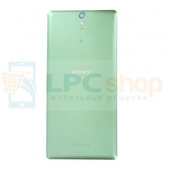 Крышка(задняя) Sony Xperia C5 Ultra Dual E5533 Зеленая