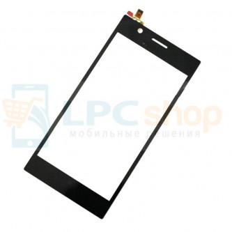 Тачскрин (сенсор) для Lenovo K900 Черный