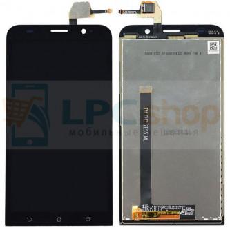 Дисплей для Asus ZenFone 2 (ZE551ML) в сборе с тачскрином Черный